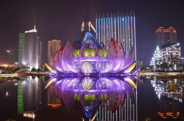 Выставочный центр «Лотос» в городе Чанчжоу (Китай)