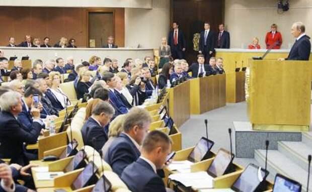 На фото: президент РФ Владимир Путин (справа)