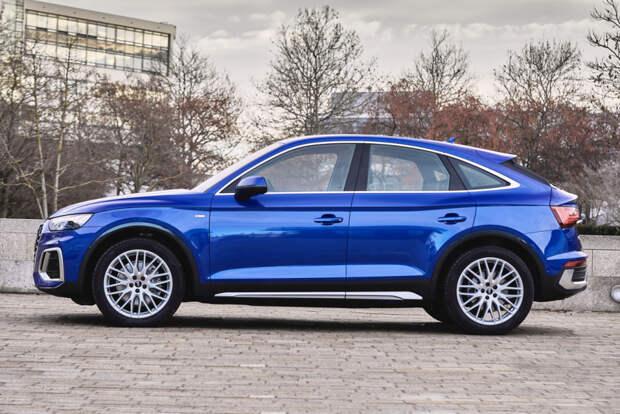Объявлены цены на купеобразные кроссоверы Audi Q5 Sportback