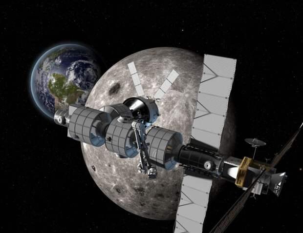 Lunar Orbital Platform-Gateway / ©NASA