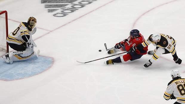 «Бостон» в овертайме победил «Вашингтон» и сравнял счет в серии плей-офф