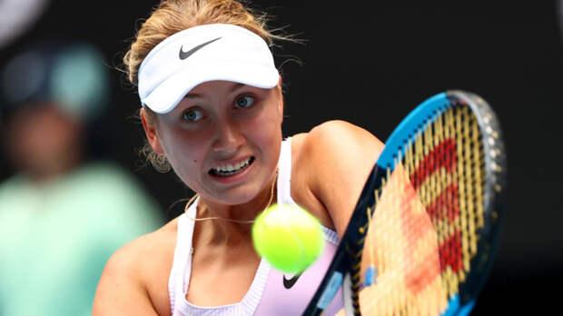 Потапова уступила Пере и не вышла в основную сетку турнира в Риме