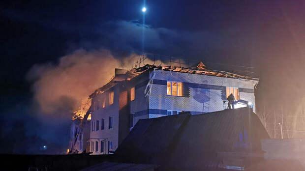 Внутри дом разворотило: очевидцы о взрыве под Нижним Новгородом