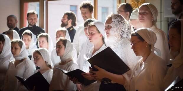 В певческой школе при храме в Петровском парке идет набор учеников на следующий учебный год