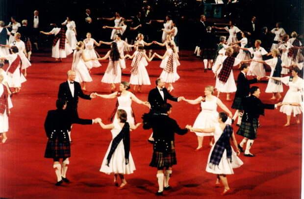 Шотландский бальный танец - дыхание эпохи