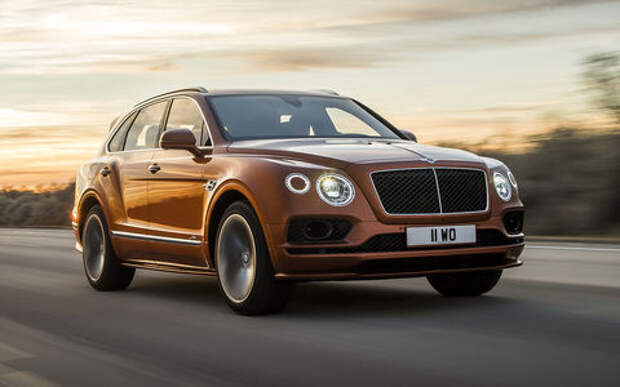 Самый быстрый внедорожник - теперь это Bentley