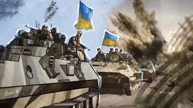 Народная милиция ЛНР зафиксировала бронетехнику ВСУ у линии разграничения в Донбассе
