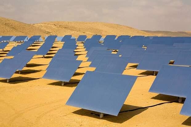 Про солнечные электростанции в пустыне Сахара                                     (3фото)