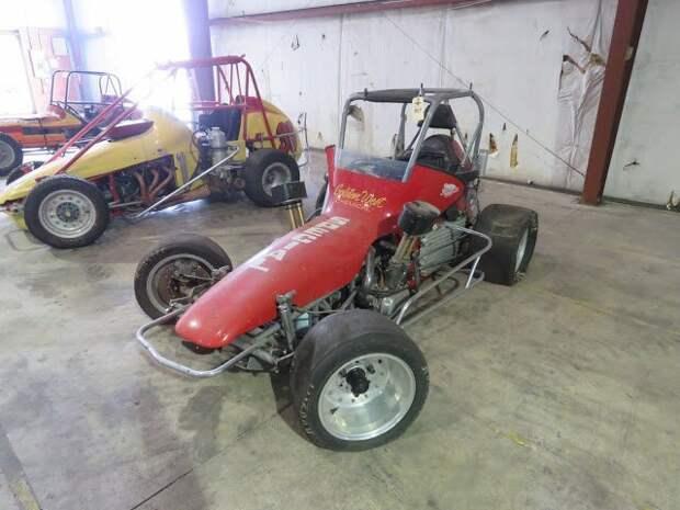 1980s Edmund Vintage Midget Race Car Вот это ДА, винтажные авто, гоночные автомобили, интересно, коллекция авто, коллекция автомобилей, мотоциклы, раритетные автомобили