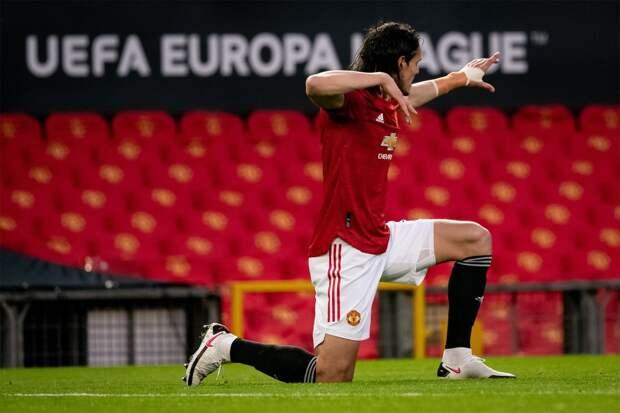 Кавани — первый футболист за 35 лет, сделавший по дублю в обоих полуфинальных матчах еврокубка