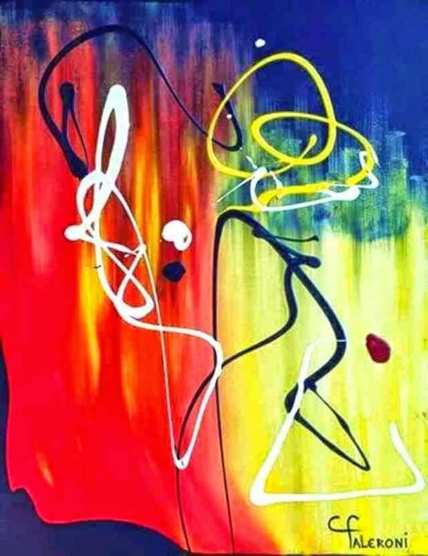 Яркие картины. Maria Cristina Faleroni
