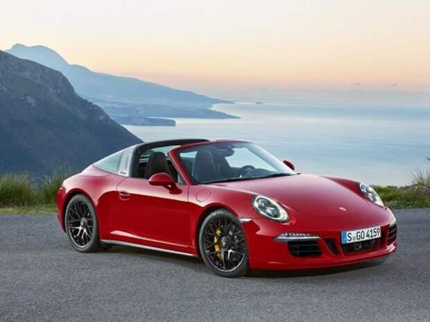 Porsche 911 Targa 4 GTS дебютировал на автосалоне и скоро предет в Россию