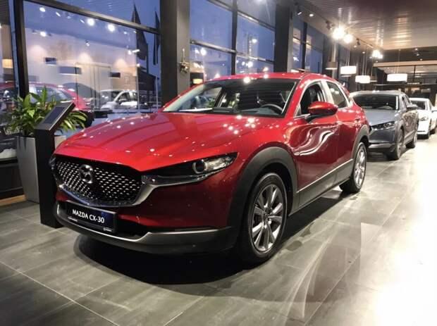В Петербурге впервые за три года стартовали продажи новой модели Mazda