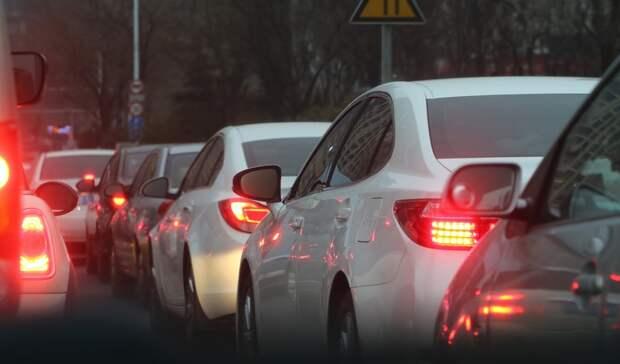 Ливень парализовал движение надорогах Ростова-на-Дону