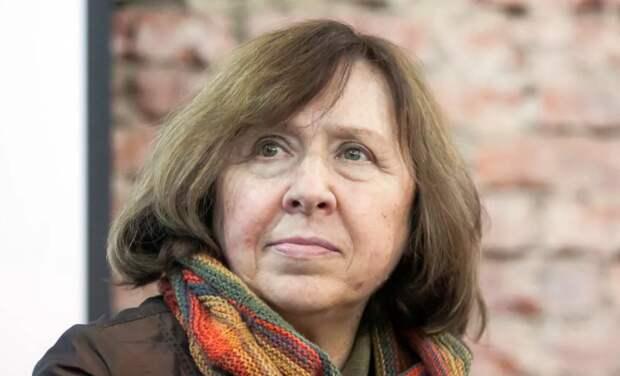 Русофобка Алексиевич воззвала к русской интеллигенции