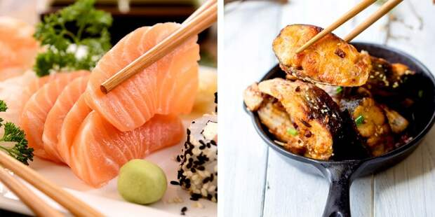 Вареный рис или сырая рыба: чем различаются кулинарные привычки японцев и китайцев