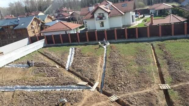 Дренажные системы на дачном участке: поверхностный дренаж