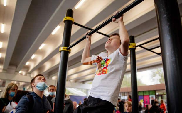 В Рязани подвели итоги спортивно-патриотической акции «Подтянись за Победу»