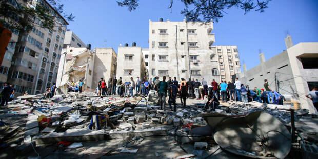 Вторая неделя конфликта: Израиль ночью нанес серию авиаударов по секторe Газа