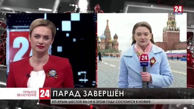 В составе механизированной колонны на параде Победы в Москве прошли больше 190 образцов военной техники