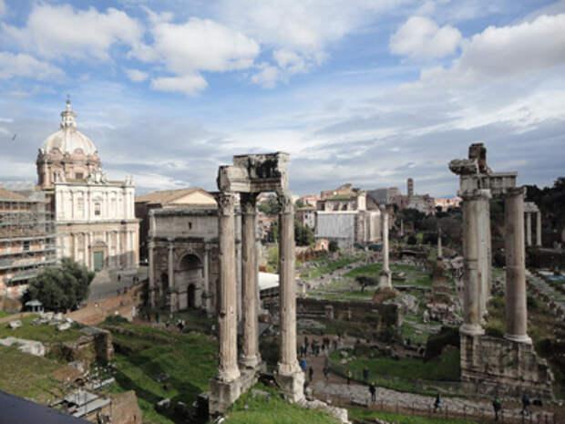 Британские СМИ: Рим оказался древнее на 50 лет