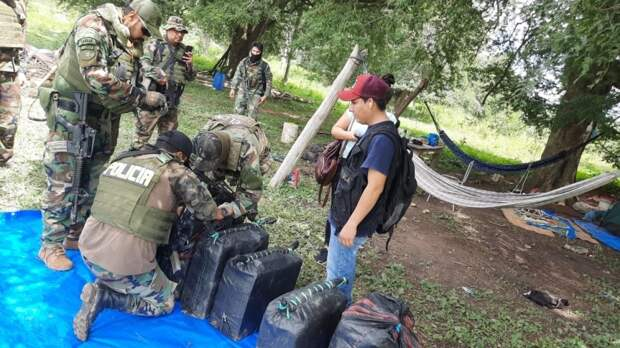 Полиция Боливии уничтожила три крупные нарколаборатории