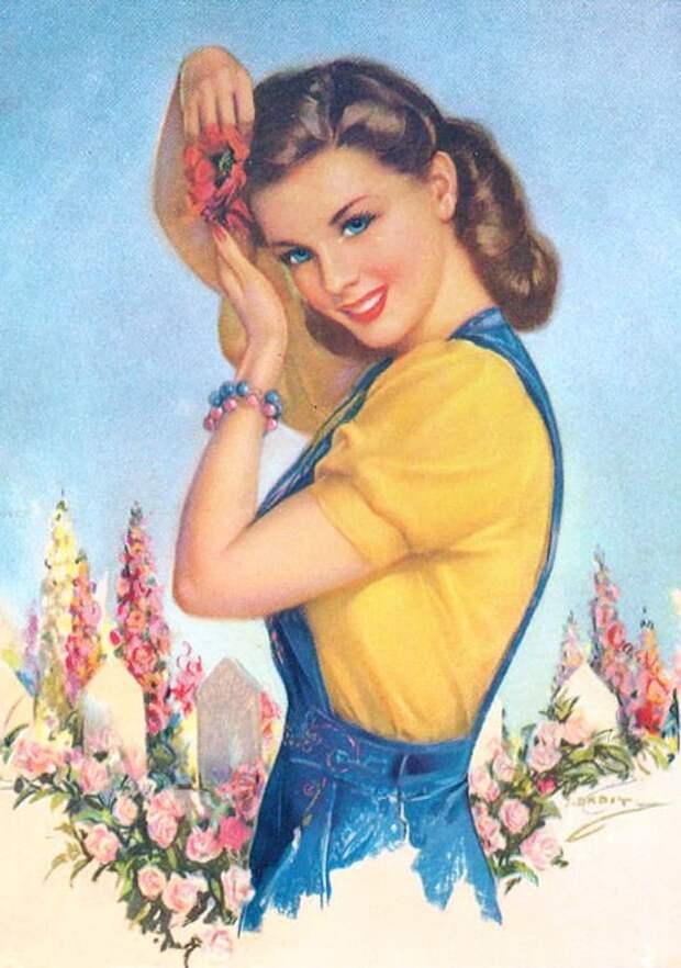 Юлиус Эрбит: от плакатов для Красной  армии до обнаженных девушек в стиле пин-ап