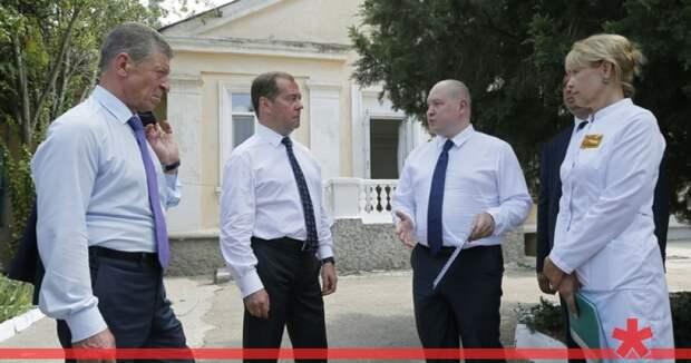 Севастополь планирует госпитализировать туристов в еще не построенные больницы