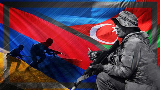 Военкор Котенок: конфликт между Арменией и Азербайджаном может вспыхнуть с новой силой
