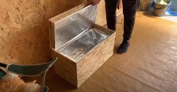 Как сделать термобокс (переносной холодильник) своими руками