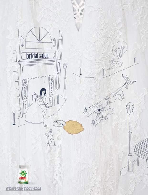 Story, Ariel, BBR Saatchi & Saatchi Tel Aviv, Procter & Gamble Co., Печатная реклама