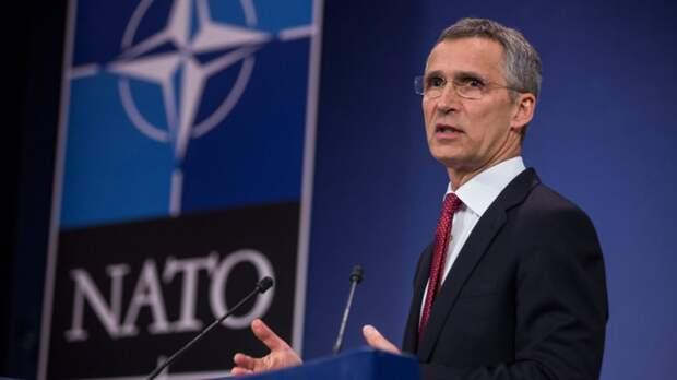 Столтенберг заявил о неспособности НАТО противостоять Китаю