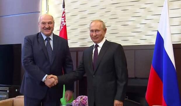 Стали известны подробности встречи Путина и Лукашенко
