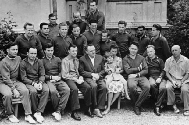 Первый отряд советских космонавтов, 1961 год.