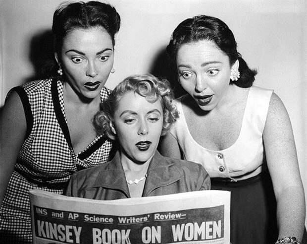 История сексуальной свободы и раскрепощенности женщин с 30‑х годов до нашихдней
