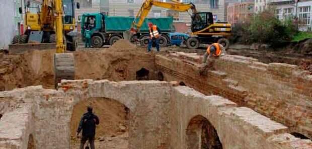 Раскопки. Допотопная цивилизация