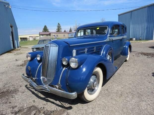 1936 Pierce Arrow V12 Series 1602 5 Passenger Sedan Вот это ДА, винтажные авто, гоночные автомобили, интересно, коллекция авто, коллекция автомобилей, мотоциклы, раритетные автомобили