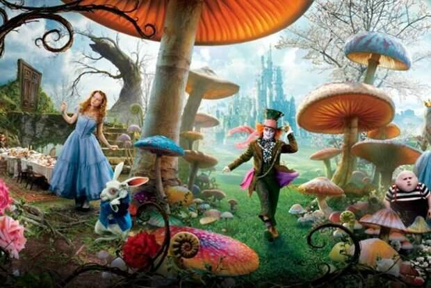 Кадр из фильма Алиса в стране чудес. \ Фото: moemisto.ua.