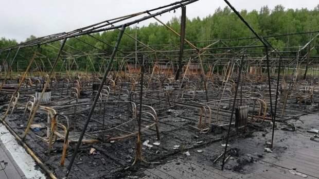 Суд арестовал директора лагеря под Хабаровском, где при пожаре погибли дети