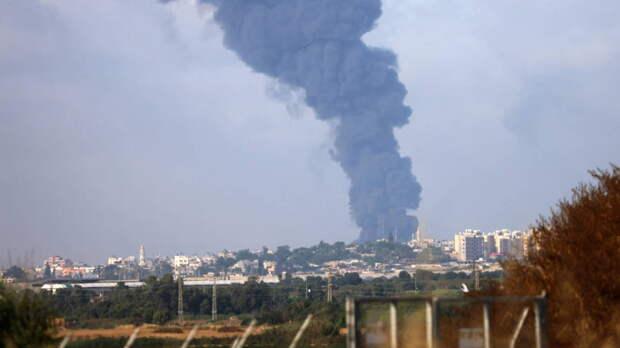 Израиль нанес авиаудар по штабу службы внутренней безопасности ХАМАС