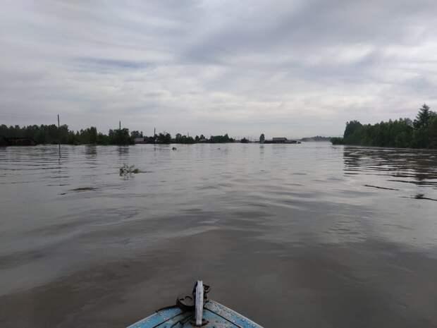 На реках в Иркутской области ожидается подъем уровня воды