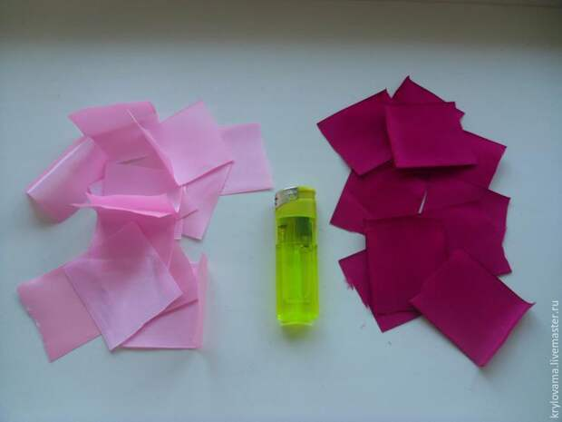 Как вышивать лентами розы (подробный мастер-класс)