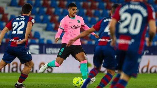 «Барселона» упустила победу вматче с «Леванте»