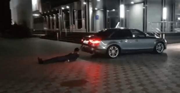 «Авто протащило привязанного человека» – полиция Павлодара провела проверку