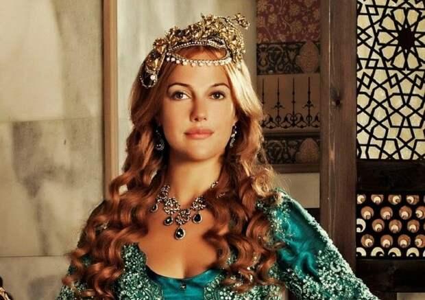 Звезда сериала «Великолепный век» заявила, что в ее жилах течет русская кровь