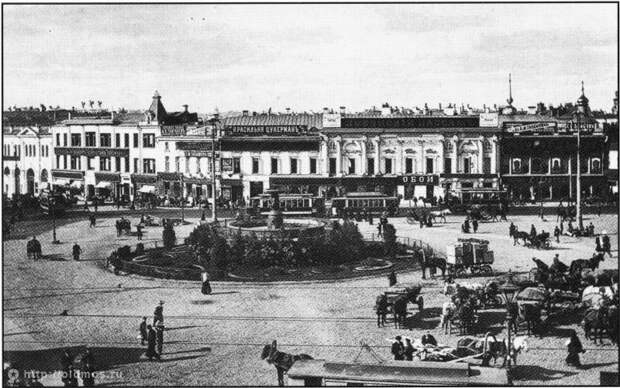 Самая красивая площадь Москвы
