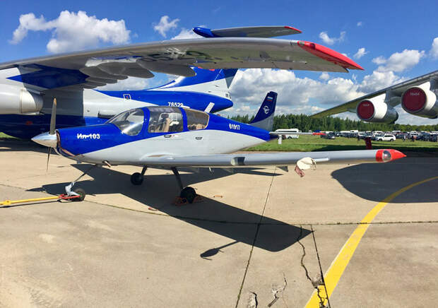 Минпромторг решил возобновить производство «самолета-такси» Ил-103