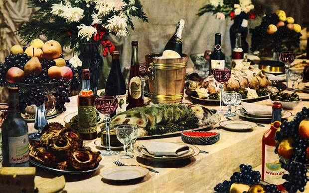 Советские новогодние столы признали угрозой нацбезопасности Украины