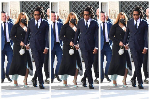 Пара дня: Бейонсе и Джей-Зи на свадьбе Александра А...