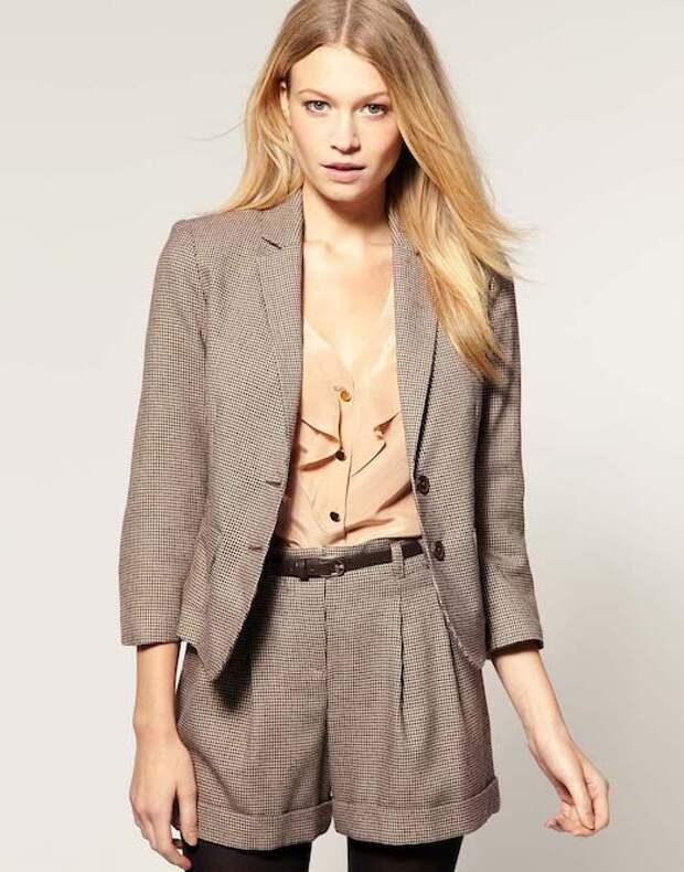 Костюм с шортами — модно, красиво и удобно